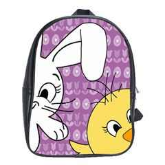 Easter School Bags (xl)  by Valentinaart