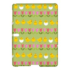 Easter   Chick And Tulips Samsung Galaxy Tab S (10 5 ) Hardshell Case