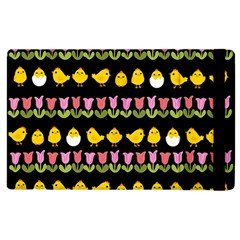 Easter   Chick And Tulips Apple Ipad 3/4 Flip Case