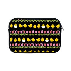 Easter   Chick And Tulips Apple Ipad Mini Zipper Cases by Valentinaart