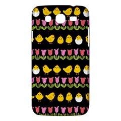 Easter   Chick And Tulips Samsung Galaxy Mega 5 8 I9152 Hardshell Case