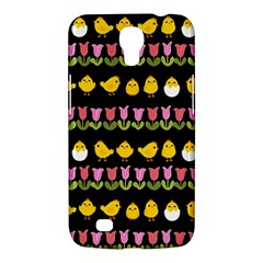 Easter   Chick And Tulips Samsung Galaxy Mega 6 3  I9200 Hardshell Case