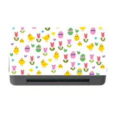 Easter   Chick And Tulips Memory Card Reader With Cf by Valentinaart