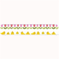 Easter   Chick And Tulips Small Bar Mats