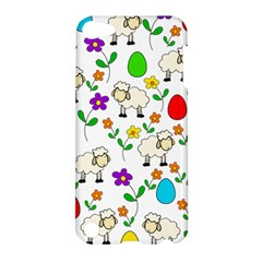 Easter Lamb Apple Ipod Touch 5 Hardshell Case by Valentinaart
