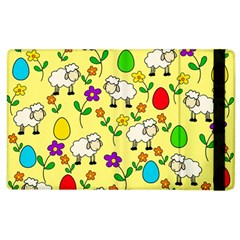 Easter Lamb Apple Ipad 3/4 Flip Case by Valentinaart