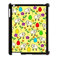Easter Lamb Apple Ipad 3/4 Case (black) by Valentinaart