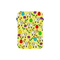 Easter Lamb Apple Ipad Mini Protective Soft Cases by Valentinaart