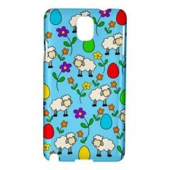 Easter Lamb Samsung Galaxy Note 3 N9005 Hardshell Case by Valentinaart