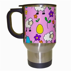 Easter Lamb Travel Mugs (white) by Valentinaart