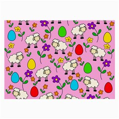 Easter Lamb Large Glasses Cloth (2 Side)