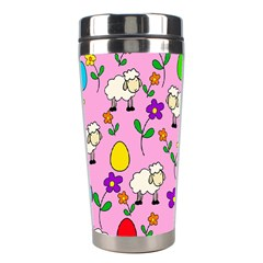 Easter Lamb Stainless Steel Travel Tumblers by Valentinaart