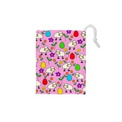 Easter Lamb Drawstring Pouches (xs)