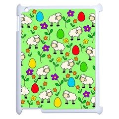 Easter Lamb Apple Ipad 2 Case (white) by Valentinaart