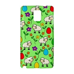 Easter Lamb Samsung Galaxy Note 4 Hardshell Case