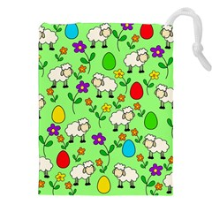 Easter Lamb Drawstring Pouches (xxl)