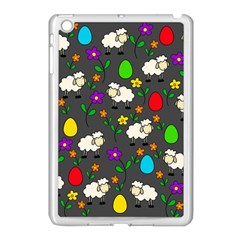 Easter Lamb Apple Ipad Mini Case (white) by Valentinaart