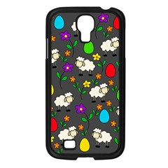 Easter Lamb Samsung Galaxy S4 I9500/ I9505 Case (black) by Valentinaart