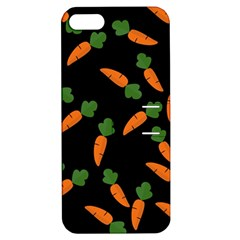 Carrot Pattern Apple Iphone 5 Hardshell Case With Stand