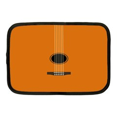 Minimalism Art Simple Guitar Netbook Case (medium)  by Mariart
