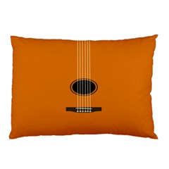 Minimalism Art Simple Guitar Pillow Case (two Sides) by Mariart