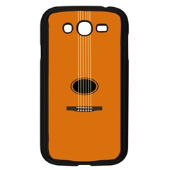 Minimalism Art Simple Guitar Samsung Galaxy Grand Duos I9082 Case (black) by Mariart