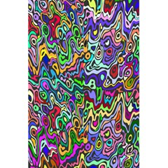 Colorful Abstract Paint Rainbow 5 5  X 8 5  Notebooks by Mariart