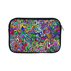 Colorful Abstract Paint Rainbow Apple Ipad Mini Zipper Cases by Mariart