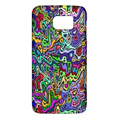Colorful Abstract Paint Rainbow Galaxy S6 by Mariart