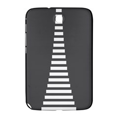 Minimalist Stairs White Grey Samsung Galaxy Note 8 0 N5100 Hardshell Case  by Mariart