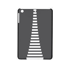 Minimalist Stairs White Grey Ipad Mini 2 Hardshell Cases by Mariart