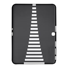 Minimalist Stairs White Grey Samsung Galaxy Tab 4 (10 1 ) Hardshell Case  by Mariart