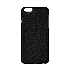 Oklahoma Circle Black Glitter Effect Apple Iphone 6/6s Hardshell Case by Mariart