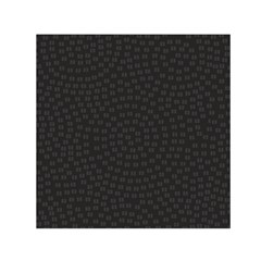 Oklahoma Circle Black Glitter Effect Small Satin Scarf (square) by Mariart