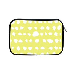 Polkadot White Yellow Apple Ipad Mini Zipper Cases by Mariart