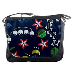Origami Flower Floral Star Leaf Messenger Bags by Mariart