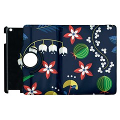 Origami Flower Floral Star Leaf Apple Ipad 3/4 Flip 360 Case by Mariart