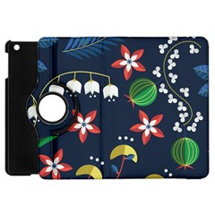 Origami Flower Floral Star Leaf Apple Ipad Mini Flip 360 Case by Mariart