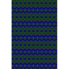 Split Diamond Blue Green Woven Fabric 5 5  X 8 5  Notebooks by Mariart