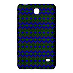 Split Diamond Blue Green Woven Fabric Samsung Galaxy Tab 4 (7 ) Hardshell Case  by Mariart