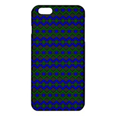 Split Diamond Blue Green Woven Fabric Iphone 6 Plus/6s Plus Tpu Case by Mariart