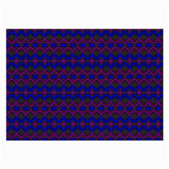 Split Diamond Blue Purple Woven Fabric Large Glasses Cloth (2 Side) by Mariart