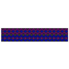Split Diamond Blue Purple Woven Fabric Flano Scarf (small) by Mariart