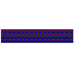 Split Diamond Blue Purple Woven Fabric Flano Scarf (large) by Mariart