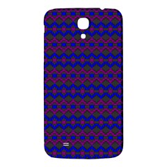 Split Diamond Blue Purple Woven Fabric Samsung Galaxy Mega I9200 Hardshell Back Case by Mariart