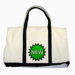 New Icon Sign Two Tone Tote Bag by Mariart