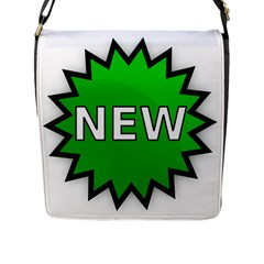 New Icon Sign Flap Messenger Bag (l)  by Mariart