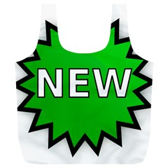New Icon Sign Full Print Recycle Bags (l)  by Mariart