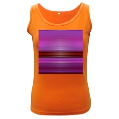 Stripes Line Red Purple Women s Dark Tank Top by Mariart