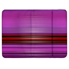 Stripes Line Red Purple Samsung Galaxy Tab 7  P1000 Flip Case by Mariart